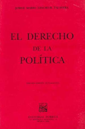 DERECHO DE LA POLITICA, EL