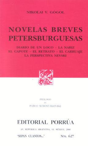 # 627. NOVELAS BREVES PETERSBURGUESAS
