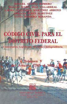 CODIGO CIVIL PARA EL DISTRITO FEDERAL 5