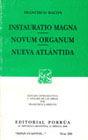 # 293. INSTAURATIO MAGNA / NOVUM ORGANUM