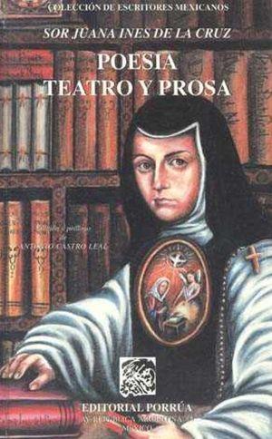 POESIA TEATRO Y PROSA / PD.