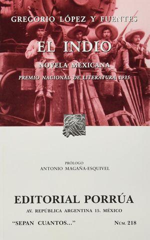 # 218. EL INDIO