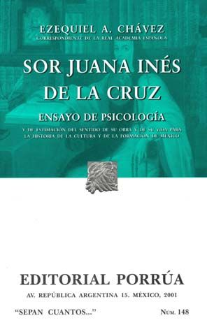 # 148. SOR JUANA INES DE LA CRUZ. ENSAYO DE PSICOLOGIA