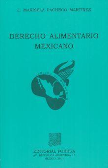 DERECHO ALIMENTARIO MEXICANO