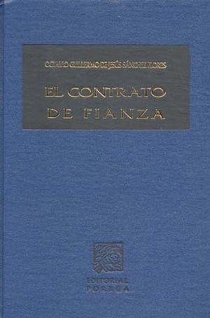 CONTRATO DE FIANZA, EL / PD.