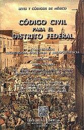 CODIGO CIVIL PARA EL DISTRITO FEDERAL / VOL. III