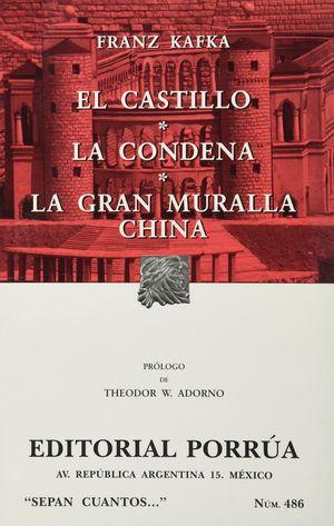 # 486. EL CASTILLO / LA CONDESA / LA GRAN MURALLA CHINA