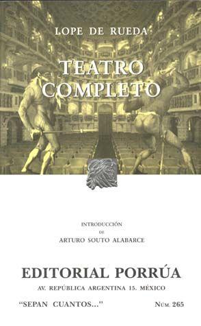 # 265. TEATRO COMPLETO
