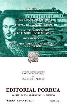 # 321. DISCURSO DE METAFISICA / SISTEMA DE LA NATURALEZA