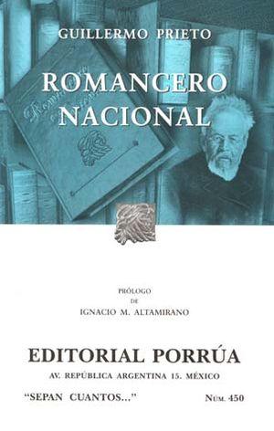 # 450. ROMANCERO NACIONAL