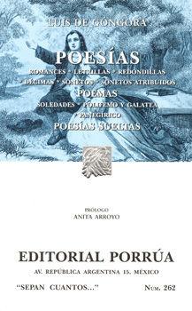 # 262. POESIAS / LUIS DE GONGORA
