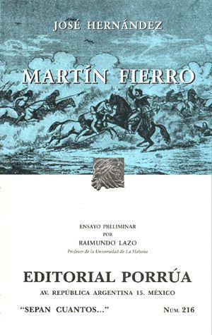 # 216. MARTIN FIERRO