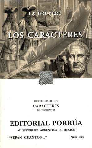 # 584. LOS CARACTERES