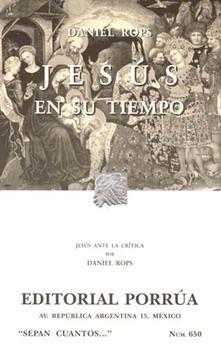 # 650. JESUS EN SU TIEMPO