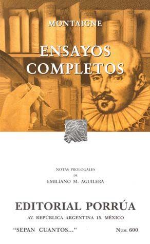 # 600. ENSAYOS COMPLETOS / 4 ED.