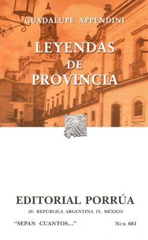 # 661. LEYENDAS DE PROVINCIA