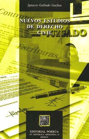 NUEVOS ESTUDIOS DE DERECHO CIVIL