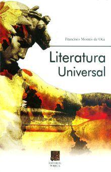 LITERATURA UNIVERSAL. BACHILLERATO / 36 ED.