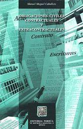 OBLIGACIONES CIVILES CONTRACTUALES Y EXTRACONTRACTUALES