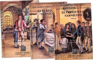 PERIQUILLO SARNIENTO, EL / 3 TOMOS / PD.