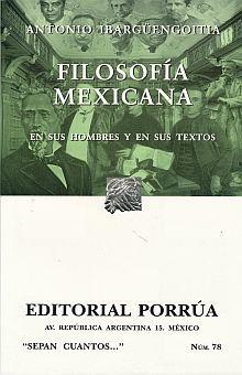 # 78. FILOSOFIA MEXICANA