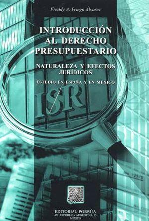 INTRODUCCION AL DERECHO PRESUPUESTARIO