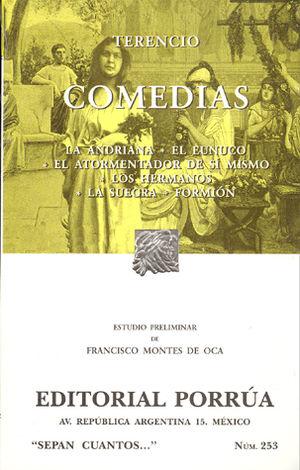 # 253. COMEDIAS / TERENCIO