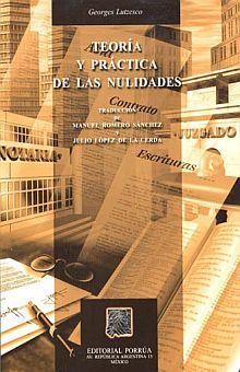 TEORIA Y PRACTICA DE LAS NULIDADES / 12 ED.
