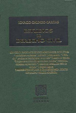 ESTUDIOS DE DERECHO CIVIL / 3 ED. / PD.