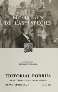 # 385. EL ORIGEN DE LAS ESPECIES