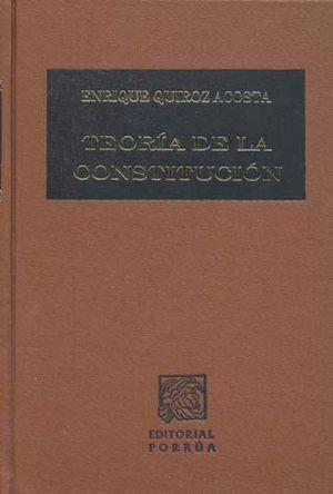 TEORIA DE LA CONSTITUCION / 4 ED. / PD.
