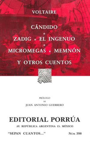 # 398. CANDIDO / ZADIG / EL INGENUO / MICROMEGAS