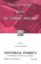 # 421. GOG / EL LIBRO NEGRO