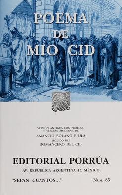 # 85. POEMA DE MIO CID