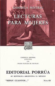 # 68. LECTURAS PARA MUJERES