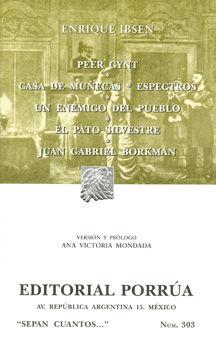 # 303. PEER GYNT / CASA DE MUÑECAS / ESPECTROS