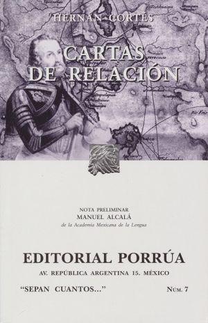 # 7. CARTAS DE RELACION