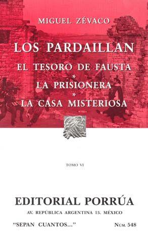 # 548. LOS PARDAILLAN / TOMO VI