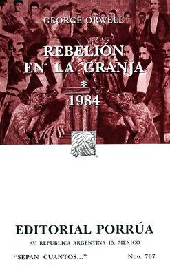 # 707. REBELION EN LA GRANJA / 1984