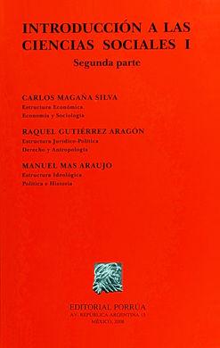 INTRODUCCION A LAS CIENCIAS SOCIALES I. SEGUNDA PARTE
