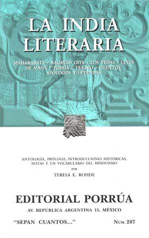 # 207. LA INDIA LITERARIA