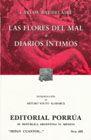 # 426. LAS FLORES DEL MAL / DIARIOS INTIMOS