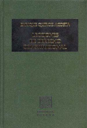 LECCIONES DE DERECHO CONSTITUCIONAL / PD.