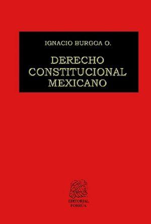 DERECHO CONSTITUCIONAL MEXICANO / PD.
