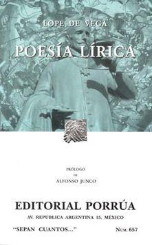 # 657. POESIA LIRICA