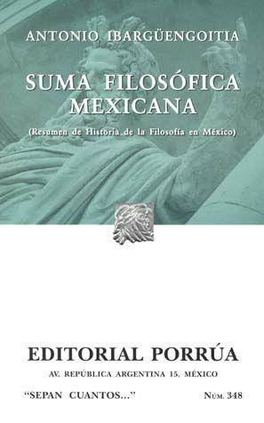 # 348. SUMA FILOSOFICA MEXICANA