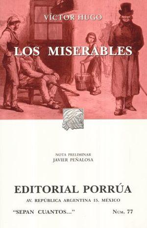 # 77. LOS MISERABLES / 20 ED.