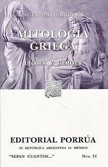 # 31. MITOLOGIA GRIEGA