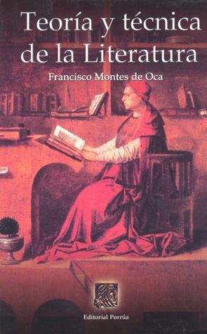 TEORIA Y TECNICA DE LA LITERATURA