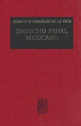 DERECHO PENAL MEXICANO / 31 ED. / PD.